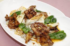 23.豚肉とキャベツの辛味噌炒め[辛]