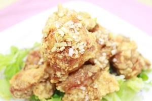 19.鶏の唐揚げ薬味ソース